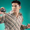 foxfirefey_dev: A guy looking ridiculous by doing a fashionable posing with a mouse, slinging the cord over his shoulders. (pic#5727339)
