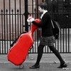 roolley: girl with a red cello case (girl with the red cello case)