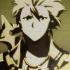 bowandblade: (In his battle raiments of divinity)