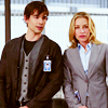 azurite: Annie (Piper Perabo) and Auggie (Chris Gorham) of Covert Affairs (covert affairs - annie x auggie)