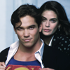 azurite: Lois and Clark from Lois & Clark: The New Adventures of Superman, with Lois holding open Clark's shirt to reveal the S (lois & clark - show off the S)