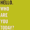 ofthesounds: (hello; who are you today?)