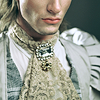 outlineofash: A man dressed in fantasy-like clothing and jewelry. (Literature - Fantasy)
