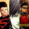 shiroki_kun: DC - Kon-El, Tim Drake, Damian Wayne (OT3)