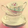 vanillateatime: (teacup stack, tea for three)