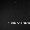 "arduinna: a photo of Earth from Mercury orbit distance, with the caption ""You Are Here"" (perspective)"