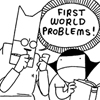 glaukopis: Cat and Girl: first world problems (problems)