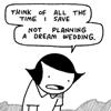 glaukopis: Cat and Girl: dream wedding (wedding)