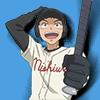 chagrined: Oofuri: Tajima up to bat (tajima bat)