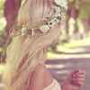 synchronously: (Flowers in my hair)