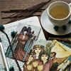 sashajwolf: photo of tarot cards next to a cup of tea (tarot)