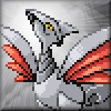 kjorteo: Sprite of a Skarmory posed and looking majestic, complete with lens flare. (Skarmory: BEHOLD)
