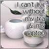 nephir: All I need (Laptop, tea)