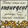 "lannamichaels: ""There was an insurgent whom I heard called Apollo"" (les mis - apollo)"