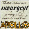 "sylleptic: Text from Les Mis:  ""There was an insurgent whom I heard called Apollo"" (fandom; Les Mis; Apollo)"