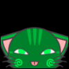 sharksinsunglasses: calliope kitty (homestuck, calliope, cat) (Default)