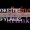 "lannamichaels: ""Orestes fasting. Pylades drunk."" (les mis - orestes pylades)"