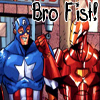 dinahqueen: Bro Fist! (Iron Man and Captain America)