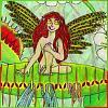 melannen: A flower fairy for a Venus'-Flytrap (lily, dionaea)