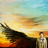 fallen_angel: (sunset wings)