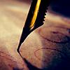 lunadelcorvo: (Pen to paper)