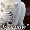 lunadelcorvo: (Facepaw Polar bear)