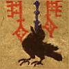 lunadelcorvo: (Raven finial)