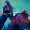 isabelladangelo: (Black horse)