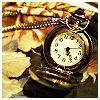 branchandroot: pocket watch on leaves (watch)