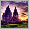 forests_of_fire: Picture of a castle against a purple/yellow sunset sky (Castle)