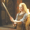 beatrice_otter: Eowyn holding a sword (Eowyn)