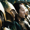 beatrice_otter: Elrond and a line of Elves, ready for battle (Elven warriors)