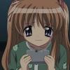 yes_im_kawaii: Makoto not wanting to eat konnyaku. (tastes like glue)