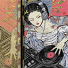 ahorbinski: A DJ geisha (historical time is a construct)