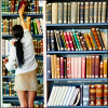 lizzy: Librarian shelving books (Default)