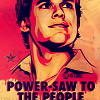 yaspis: Dexter Morgan, in a revolutionary poster style. (dexter)