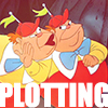 sapphoatsunset: (Alice In Wonderland - Plotting Tweedle T)