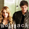 "healingmirth: Erica and Isaac from Teen Wolf, with text reading ""wolf pack"" (wolf pack)"