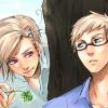yuuago: (SweNor - Get lucky)