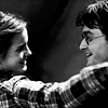 traintracks: (Hermione and Harry Smiling by wikidwitch)
