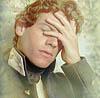 sharpiefan: Hornblower, hand over face (HH facepalm)
