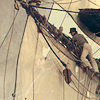 sharpiefan: Tall ship, sailors in the rigging (Sailors aloft)