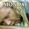 sharpiefan: Jack facedesking, text 'Monday' (JA Monday blues)