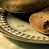sharpiefan: Plate with hardtack and two weevils, text 'OTP' (Weevil OTP)