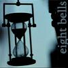 sharpiefan: Ship's glass, text 'eight bells' (Eight bells)