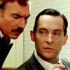 sharpiefan: Watson looking over Holmes' shoulder (Holmes and Watson)