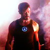 iamshadow: Still from Iron Man of Tony Stark blacksmithing. (Knit)