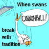 astraplain: (rubescartoons.com, swans)