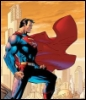 halialkers: Superman standing on a rooftop, cape billowing behind him (Clark Kent/Clarner Kentras)