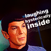 grinning_soul: (Spock (laughing))